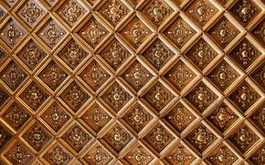Текстуры: потолок, узоры, буквы, ромбы, текстура