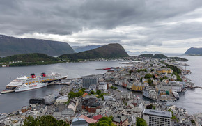 Город: Alesund, Norway, Олесунн, Норвегия