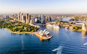 Город: Sydney, Сидней, Австралия, панорама