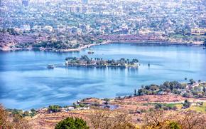Город: Fateh Sagar Lake, Udaipur, индия