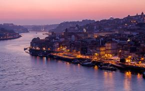 �����: Portugal, Oporto city, Douro river
