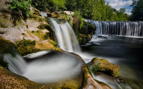 �������: Affenschlucht, T?ss river, Winterthur, Z?rich, Switzerland, ���� Ҹ�, ���������, �����, ���������, �������, ����, �����