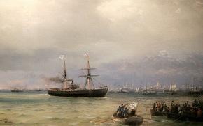 Праздники: Айвазовский, 1892 год,