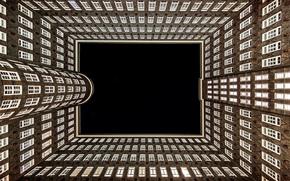 Разное: Hamburg, Germany, Гамбург, Германия, архитектура, здание, окна