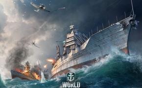 Игры: World of Warships, Мир Кораблей, морской бой