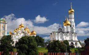 Город: Moscow, Russia, Москва, Россия, Московский Кремль, Благовещенский собор, Архангельский собор, Колокольня Ивана Великого