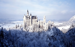 Город: Neuschwanstein Castle, Bavaria, Germany, Замок Нойшванштайн, Бавария, Германия