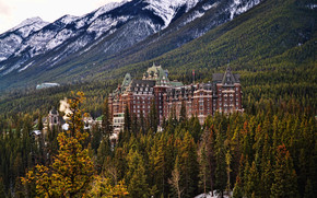 Город: The Fairmont at Banff Springs, Banff National Park, Canada
