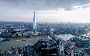 Город: London, Лондон, вид с верху