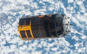 Космос: Небо, космос, японский грузовой корабль, наука, техника