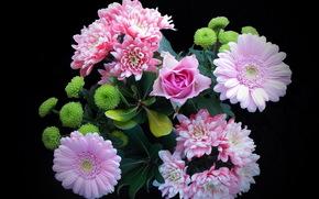 Цветы: букет, цветы, флора