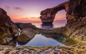 �������: Malta, arch, beach, �����, ����, �����, �����, ����, ������