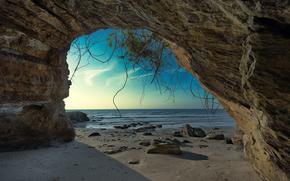 Пейзажи: море, берег, скала, арка, пейзаж