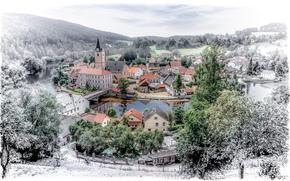 Город: Рожмберк-над-Влтавой, чехия, город