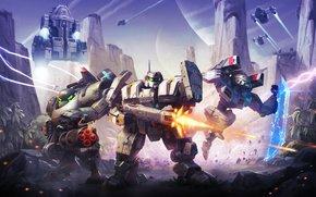 Игры: Dawn of Steel, роботы, звездолёты