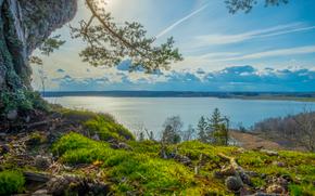 Пейзажи: Grodinge, Sweden, пейзаж