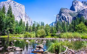 Пейзажи: Yosemite National Park, California, USA