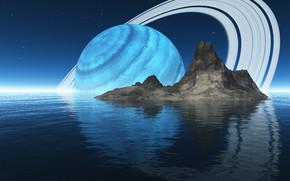 Корабли: космос, 3d, art