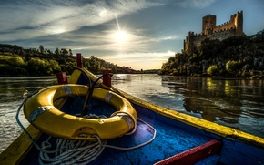 �������: Castle of Almourol, Tagus River, Portugal, ����� ��������, ���� ����, ����������, �����, ����, �����, ������������ ����