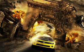 Фантастика: гонка, бойня, сюрреализм, фантасмагория, 3d, art