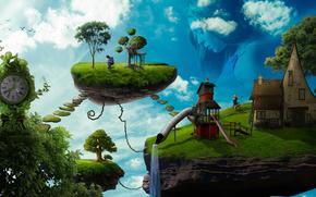 Рендеринг: сюрреализм, фантасмагория, 3d, art