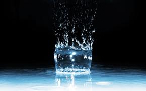 Макро: вода, капля, брызги, макро