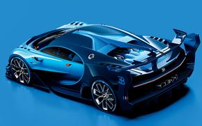 Машины: 2015, Bugatti, Vision, Gran Turismo