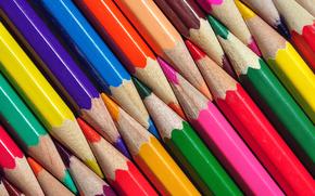 Текстуры: карандаши, цветные, текстура