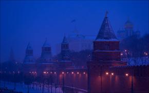 Город: Russia, Moscow, Kremlin towers, Юрий Дегтярёв