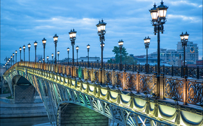 �����: Russia, Moscow, Patriarchal bridge