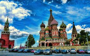 Город: St. Basil, Kremlim, Moscow