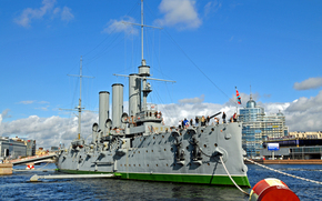 Корабли: Россия, Крейсер Аврора, Russia, Aurora