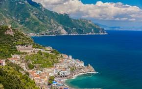 Город: Амальфи, провинции Салерно, италия