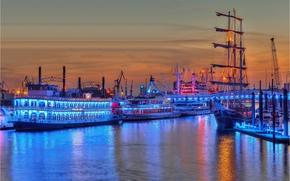 Город: Синий Порт, Гамбург, германия