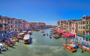 Grand Canal, Venice, венеция обои, фото