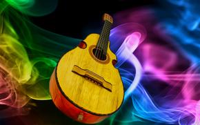музыкальный, инструмент, гитара обои, фото