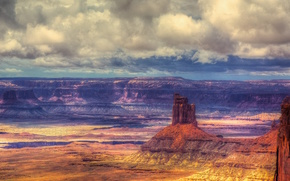 Пейзажи: Canyonlands National Park, горы, скалы, пейзаж