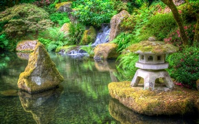 Пейзажи: japanese garden, сад, парк, пейзаж