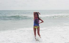 Настроения: Пляж, море, девушка