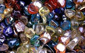 Текстуры: Стеклянные Камни, разноцветные, текстура