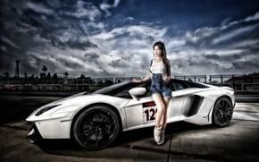 ������: Lamborghini Aventador LP 700-4, Lamborghini Aventador, Lamborghini, Aventador, sports car, ��������, ������, �������