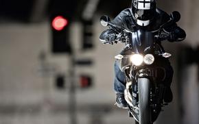 сдвоенные фары на мотоцикл #12