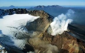 вулкан,  камчатка обои, фото