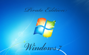 Hi-tech: windows, pirate, edition
