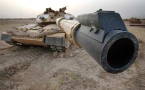 танк,  дуло,  пустыня, автомобили, машины, авто обои, фото