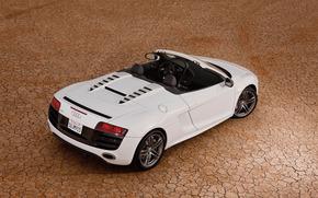машина, пустыня, Audi обои, фото
