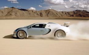 скорость, пустыня, вид, автомобили, машины, авто обои, фото