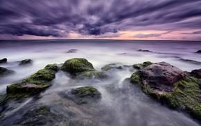 Италия, Сицилия, donnalucata, средиземное море, камни, небо, тучи, зима, kidkutsmedia photography обои, фото