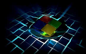 Hi-tech: windows7, 3d, art