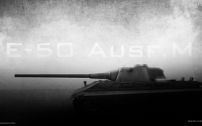 ����: e-50 ausf. m, e-50, �-50, world of tanks, wot, ��, ����, dark